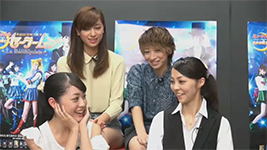 God of Backstage - Interview with actresses: Mercury, Jupiter, Nephrite, and Zoicite